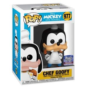 Funko POP! Chef Goofy Hollywood Exclusive #977